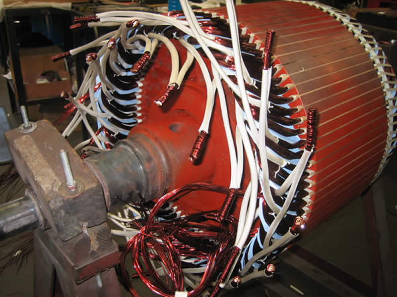 2_rewinding-of-rotor-with-wire